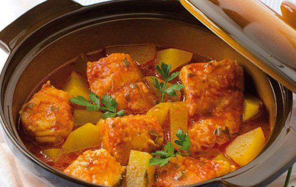 Baccala con patate ricette di pesce