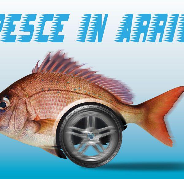 Consegna a domicilio Pesce in Arrivo